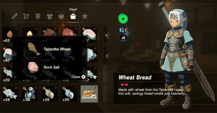 Image breath of the wild recipes bread wheat bread base recipe breath of the wild recipes bread wheat bread base recipeg forumfinder Choice Image