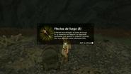 Flechas de fuego descripción BotW