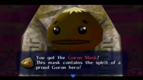 Majora´s Mask - Máscara Goron