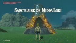 Sanctuaire de Midda'Loki BOTW
