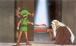 Sleeping Zelda