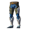 Breath of the Wild Zora Armor Set Zora Greaves (Icon)