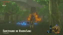 Sanctuaire de Rahna'Loki BOTW