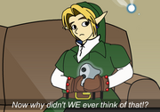 Link and Navi (Decline of Video Gaming)