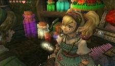 Link dando a Maripola un insecto TP