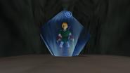 Link usando amor de Nayru