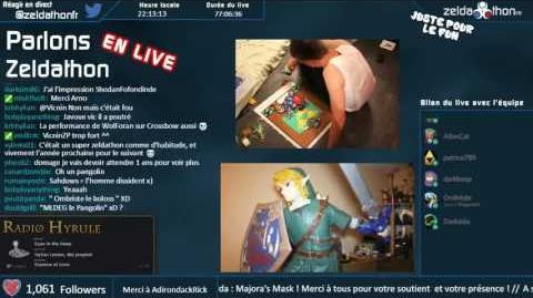 REPLAY ZeldathonFR 2016 - Parlons Zeldathon LIVE conclusion