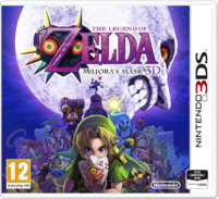 The Legend of Zelda Majora's Mask 3D Boîte Europe