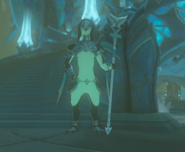Breath of the Wild Zora Captain Bazz (Zora Knight)