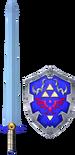 Espada de Biggoron y Escudo Hylian SCII