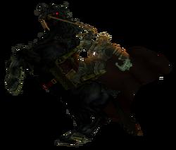 Ganondorf à cheval