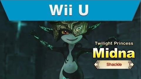Wii U -- Hyrule Warriors Trailer with Midna and a Shackle