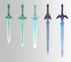 Evolución Espada Divina