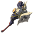 Garrote moblin de dragón BotW