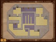 Mapa de la cuarta planta del Templo de los Mares ST