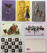 Postales japonesas de reserva (19 - 24) The Legend of Zelda Majora's Mask 3D