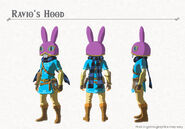 Ravio's Hood (Breath of the Wild)