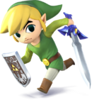 Link Cartoon (Super Smash Bros. for)