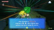 Link obteniendo la Hoja Deku en TWW HD