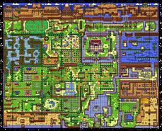 Mapa de la Isla Koholint