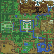 A Link to the Past Overworld Map (Light World)