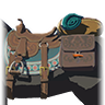 Breath of the Wild amiibo Rune Items (Traveler's Series Horse Gear) Traveler's Saddle (Icon).png