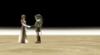Zelda et Link main TP
