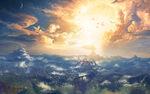 Hyrule Coucher de Soleil Artwork BOTW