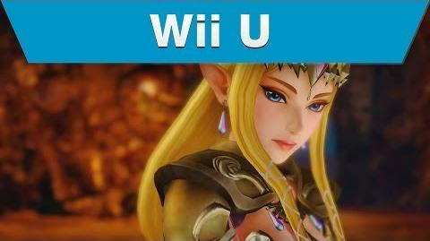 Wii U -- Hyrule Warriors Trailer with Zelda and a Rapier