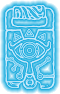 Símbolo de la tableta sheikah BotW