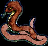 Artwork donjon snake