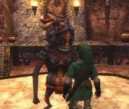 Link y Gorrigui captura TP