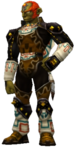 Ocarina of TIme 3D Ganondorf Gerudo King of Thieves (Render)
