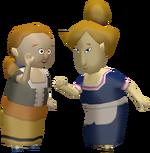 Olga et Vera figurine