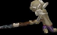 Orco figurine