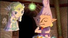 Radiel y Zelda (Spirit Tracks)