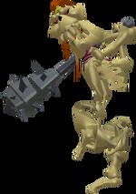 Stalfos Figurine (The Wind Waker)