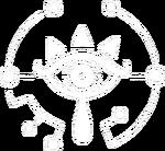 BotW Logo Sheikah blanco