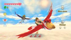 Flight Gameplay (Skyward Sword)
