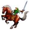 Link and Epona Sticker