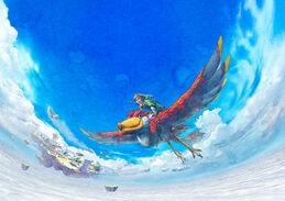 SS Skyloft Artwork