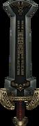 Twilight Princess Enemy Weapons Boss Darknut Sword (Tempel of Time Mini-Boss)