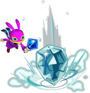 A Link Between Worlds Ravio Ice Rod (Artwork)