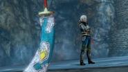 Hyrule Warriors Giant Blade Biggoron's Knife (Victory Cutscene)