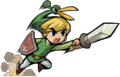 Link Stabbing (The Minish Cap)