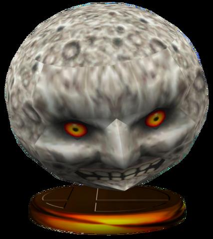 File:Super Smash Bros. Melee Trophies Moon (Render).png