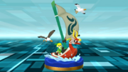 Super Smash Bros. for Wii U King of Red Lions & Toon Link (The Wind Waker) King of Red Lions (Trophy)