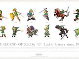 The Legend of Zelda 3-Poster Series