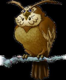 Kaepora Gaebora Artwork (Ocarina of Time)