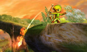 Arco Incandescente Toon Link SSB3DS